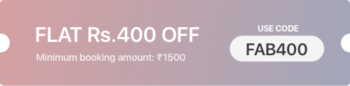 FabHotels Deals & Offers: Rs. 400 off on All Budget Hotels