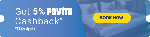 FabHotels offers: 5% paytm cashback on all budget hotels