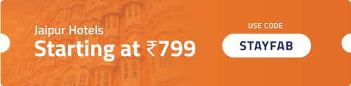 Book Jaipur Hotels Starting Rs. 799
