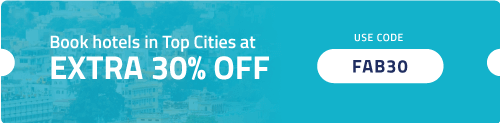 Get Extra 30% OFF on FabHotels in top cities