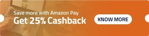Get 25% cashback on Amazon Pay