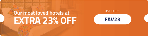Get Extra 23% OFF on our Most Loved Fab Hotels.