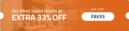 Get Extra 33% OFF on our Most Loved Fab Hotels.